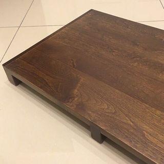 預訂 實木 原木 電腦架 收納架 ㄇ型架 螢幕架 桌上型置物 辦公架 書桌 實木ㄇ型架