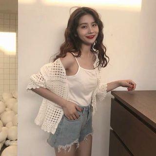 Korean Lacey Knit Jacket