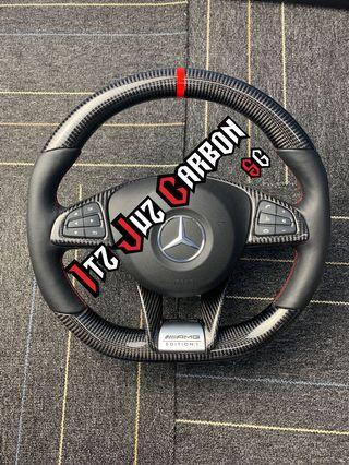 (Ready Stock) Mercedes AMG Carbon steering