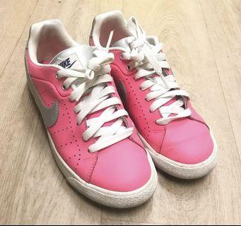 Nike Pink x Silver Court Tour Shoes