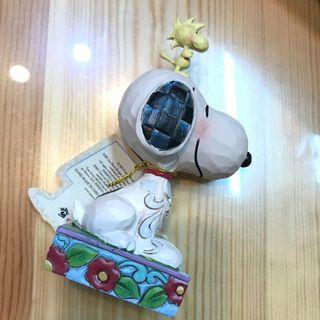 全新Snoopy 木製擺設