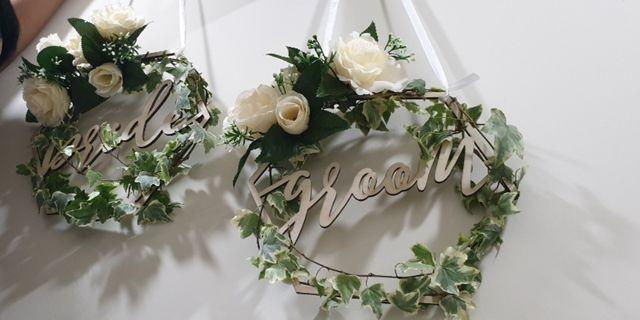 Rustic wedding theme decor