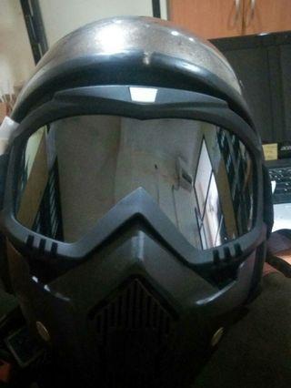 Biker mask topeng
