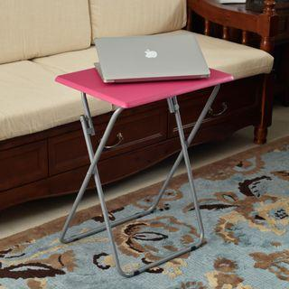 LAST SET Hotpink Foldable Small Picnic Study Table