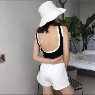 (INSTOCKS) Low Back Top
