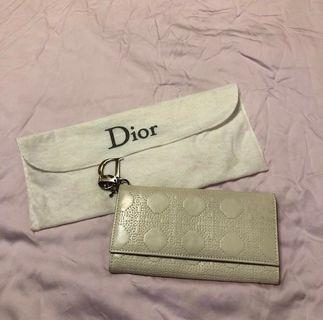 🚚 [DIOR] Signature Print Logo Long Wallet