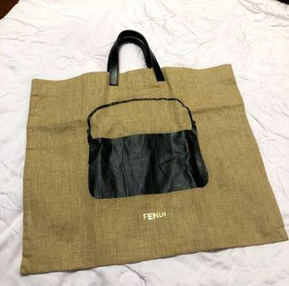 [FENDI] Tote Bag with Handbag imprint