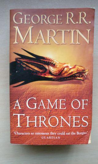 Game of Thrones: A Song of Fire and Ice (George RR Martin)