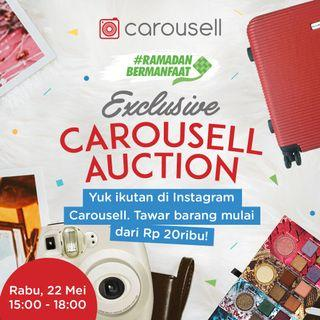 Exclusive Carousell Auction