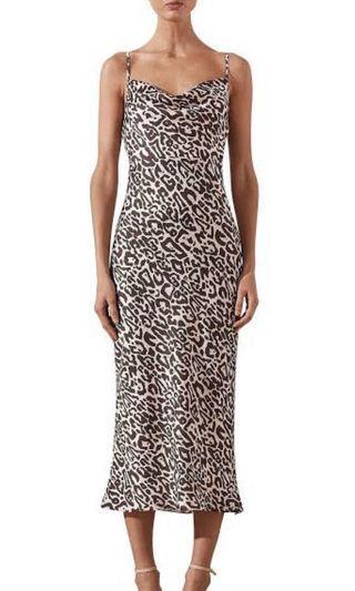 Shona Joy Isabella Cowl Slip Dress