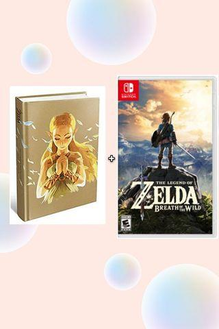 Zelda Breath Of The Wild + The complete official guide book
