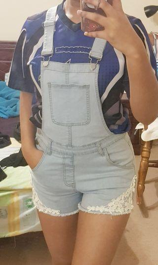 Valleygirl Denim overall / pinafore / dungaree