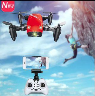 Mini Drone With Camera HD S9 No Camera Foldable RC Quadcopter Altitude Hold Helicopter WiFi FPV Micro Pocket Drone