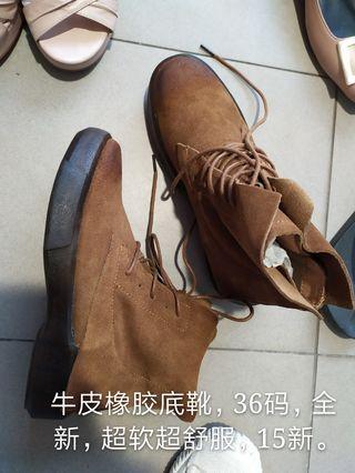 women boots leather #MRTJurongEast