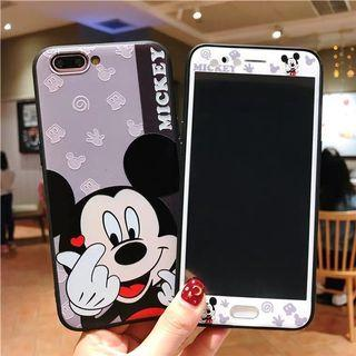 PO LLM190970 [OPPO] Mickey Miinie Casing + Screen Protector