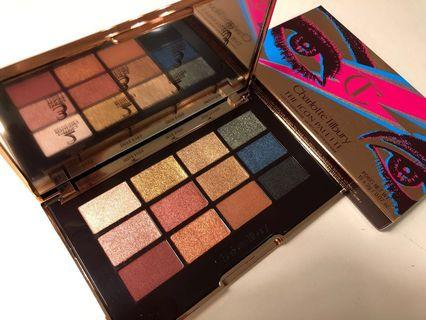 Charlotte Tilbury x David Bowie THE ICON PALETTE EYESHADOW PALETTE A 12-shade Icon palette to enhance the eyes 眼影