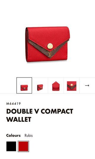 LV Double V wallet