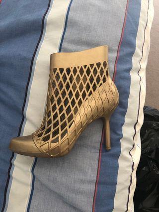 Designer Gold heels