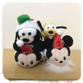 [絕版]日本迪士尼 Tsum Tsum 2017 聖誕倒數日曆限定版 米奇 米妮 高飛狗 布鲁托