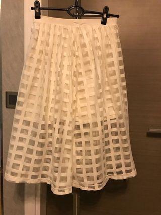 🚚 White Asos Skirt