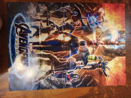 Endgame Poster A2 size