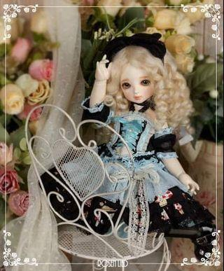 Rosenlied 1/6 bjd rl bb yosd limited outfit alice限定六分官服
