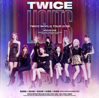 TWICELIGHTS IN SG | TWICE WORLD TOUR 2019