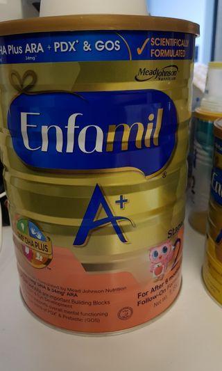 🚚 Enfamil stage 2 formula