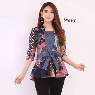 #mauvivo blouse batik modern
