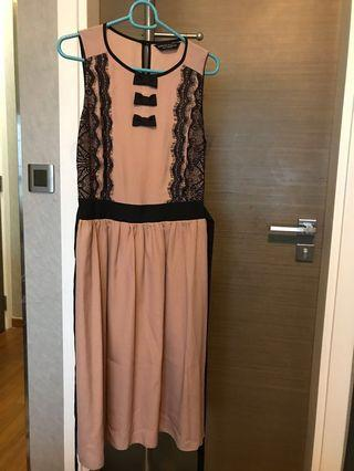 🚚 Nude Pink Dress from Dorothy Perkins