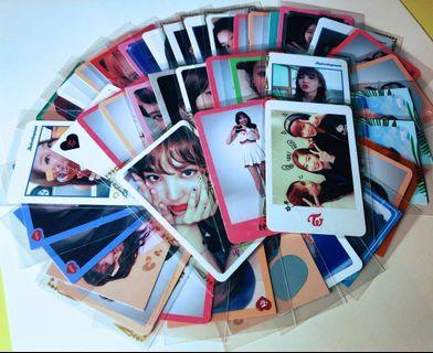 TWICE $2 leftover photocards