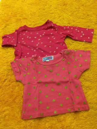Baju panjang pendek bayi