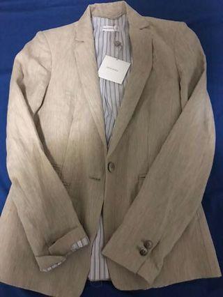 Brown Linen Blazer #SwapAU