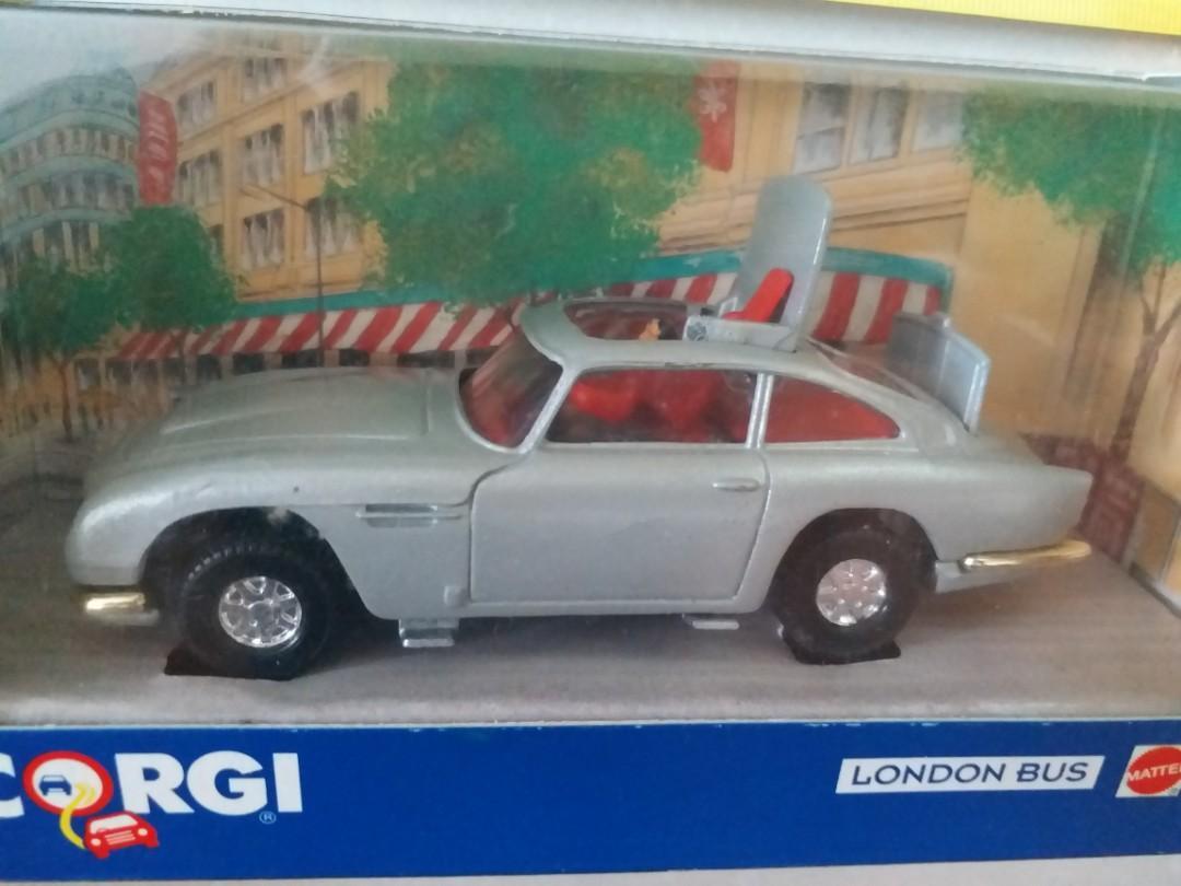 "1974 James Bond 007 movie ""Goldfinger and Thunderball"" Aston Martin car"