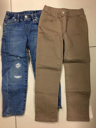 Uniqlo boy pants (110 cm)