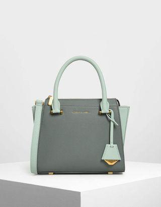 Premium Charles & Keith Bag Green