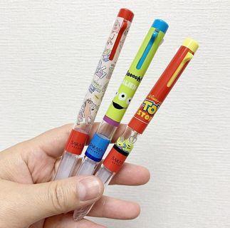 SARASA Toy Story三色原子筆筒