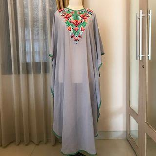 New- Grey Kaftan