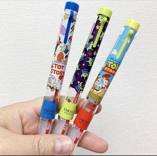 SARASA Toy Story五色原子筆筒