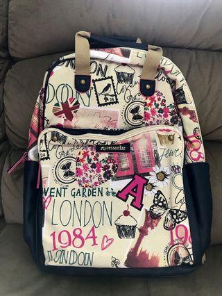Authorities Accessorize London Sights Square Rucksack/Navy