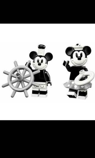 Lego Mickey & Minnie Minifigure