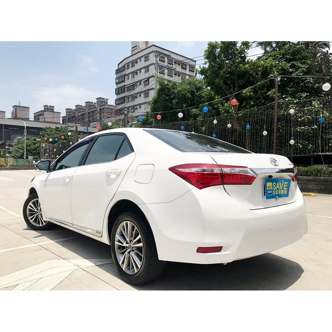 2014年 TOYOTA ALTIS 一手車 定速 多功能影音 回去加油可馬上上路 全額貸輕鬆月付千元!!