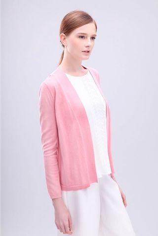 G2000 短身針織開襟外套(粉紅色) G2000 Pink Cardigan