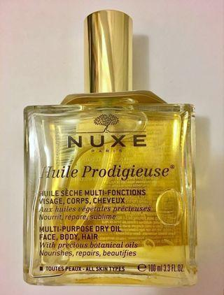 Nuxe 全面修護精華油/髮尾油Treatment Oil