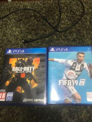 🚚 PS4  BO4 FIFA 19