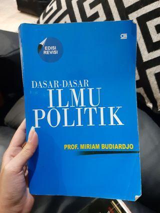 Buku Dasar dasar ilmu politik