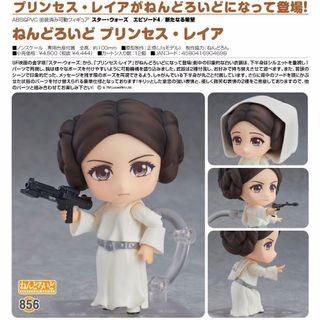 Good Smile Star Wars Princess Leia 黏土人 856 未拆紙