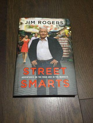 "🚚 Jim Rogers ""Street Smarts"" with autograph inside"