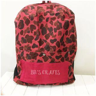 Handmade back pack