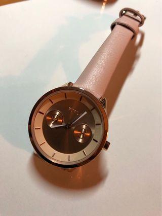 👩💼 意大利時裝品牌 Furla Lady 女裝女仕玫瑰金石英手錶 👩🏻🌾 r4251102511